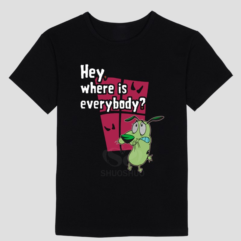 Courage The Cowardly Dog t shirt