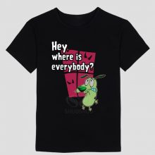 Courage The Cowardly Dog T Shirt Hey Where Is Everybody?