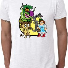 Courage the Cowardly Dog Wizard of Oz T-Shirt