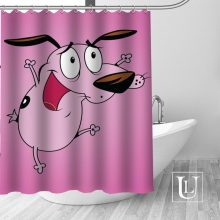 Waterproof Bathroom Shower Curtains Courage the Cowardly Brand New