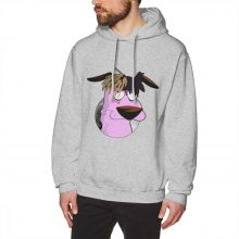 Courage The Cowardly Dog Long Sleeve Retro Hoodies Crewneck S-3XL