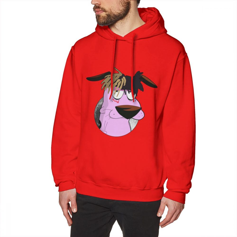 Courage The Cowardly Dog Long Sleeve Retro Hoodies