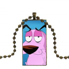 Women Jewelry Necklace Fashion Courage The Cowardly Dog